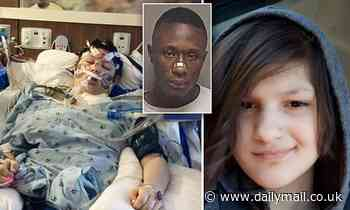 Girl, 14, dies after being stabbed 25 times in random attack while skateboarding home