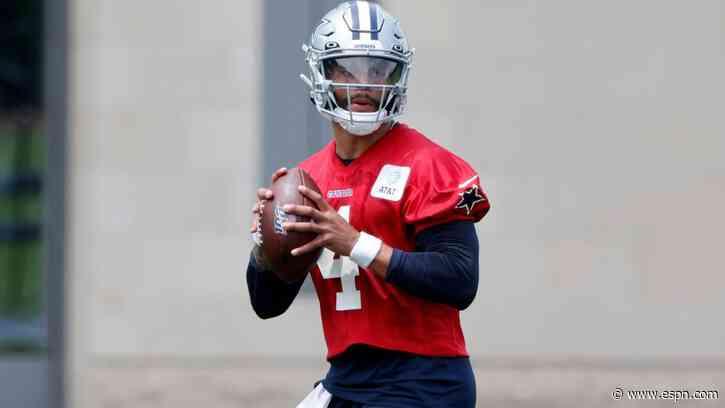 Dallas Cowboys QB Dak Prescott ready to move on, says he's 'buried' ankle injury - ESPN
