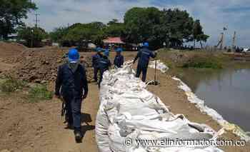 Alcaldía de Salamina adelanta trabajos para mitigar erosión en el kilómetro 1.9 - El Informador - Santa Marta