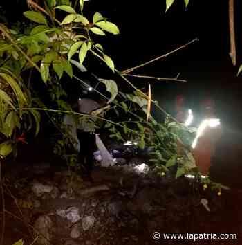 Hallan en el río Chamberí cadáver de un adulto mayor en Salamina - La Patria.com