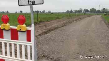 Bordesholm: Moorweg-Ausbau soll eineinhalb Jahre dauern | shz.de - shz.de