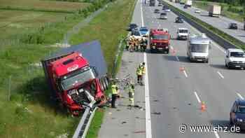 Großenaspe /Bordesholm: Zwei schwere Unfälle auf der Autobahn 7 | shz.de - shz.de