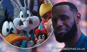Space Jam: A New Legacy releases trailer where LeBron James gets animated