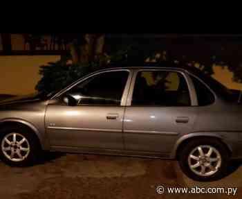 Detienen a pareja y recuperan automóvil robado en Ybycuí - Nacionales - ABC Color