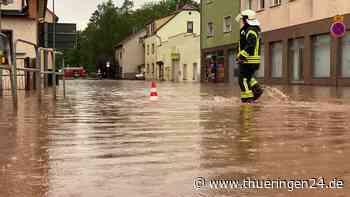 Unwetter in Thüringen hinterlässt Chaos in Mosbach – DU kannst helfen - Thüringen24