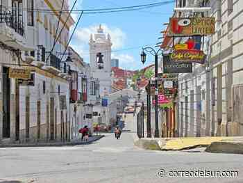 Alcaldía avala decisión del COED y Sucre se encapsula el domingo - Correo del Sur