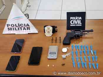 Operação conjunta apreende arma, munições e drogas em Coronel Fabriciano - Jornal Diário do Aço