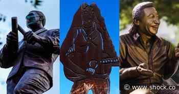 10 músicos colombianos con estatua propia (y dónde visitarlas) - Shock