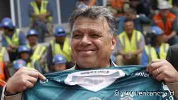 Elías Figueroa se hizo presente en la práctica de Wanderers en medio del mal momento deportivo - EnCancha.cl