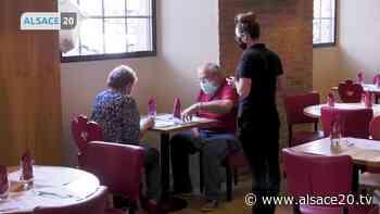 HAGUENAU : Les salles de restaurants ont pu accueillir leurs premiers clients. - alsace20.tv