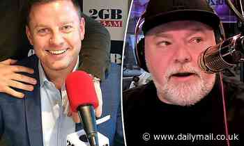Ben Fordham ruins Kyle Sandilands' 50th birthday by announcing he is 60