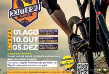 Primeiro Cicloturismo Xaxim será realizado no dia primeiro de agosto - Lato