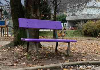 Lonate Pozzolo A Lonate Pozzolo una panchina viola per la gentilezza - varesenews.it
