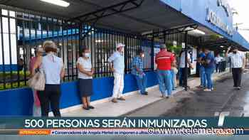 Inicia jornada de vacunación con AstraZeneca en Chitré - Telemetro