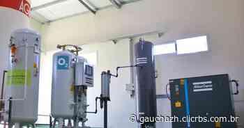 Hospital de Santa Maria recebe microusina de oxigênio doada pela Petrobras - GZH