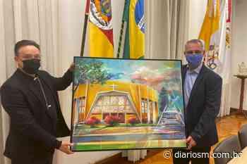 As boas-vindas do prefeito Pozzobom ao novo arcebispo de Santa Maria - Diário de Santa Maria