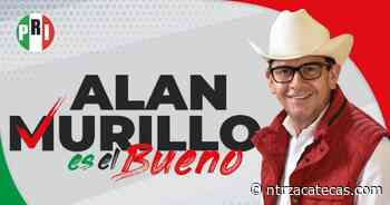 Pide PRI respetar triunfo de Alan Murillo en Sombrerete - NTR Zacatecas .com