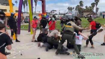 Agentes del alguacil acusados de arresto violento e injusto en Imperial Beach - NoticiasYa