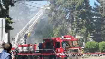 Firefighters battle flames at Westmount home | CTV News - CTV News Edmonton