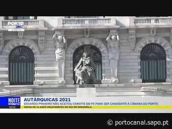 Eduardo Pinheiro rejeita convite do PS à autarquia do Porto - Porto Canal