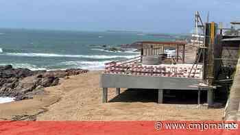 Bar de betão em praia no Porto tem de ser demolido - Correio da Manhã