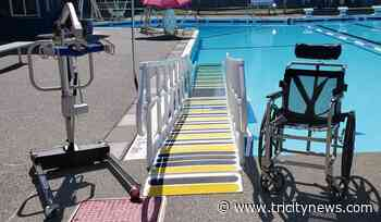New additions to Coquitlam outdoor pool aim to provide accessibility for all swimmers - The Tri-City News
