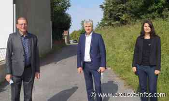 Départementales (Blanzy - Montchanin) : André Accary est venu soutenir Sophie Clément et Alain Ballot - Creusot-infos.com