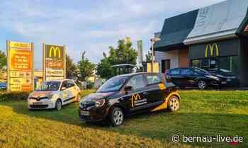Ab heute: McDonald's startet Lieferdienst in Bernau bei Berlin - Bernau LIVE