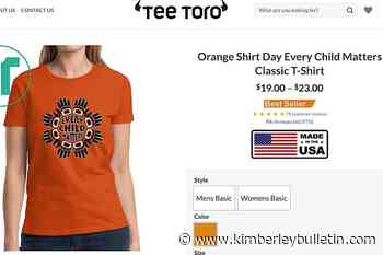 T-shirt scammers falsely claim to support Indigenous causes, BBB warns – Kimberley Daily Bulletin - Kimberley Bulletin