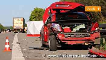18-Jähriger aus Mertingen stirbt bei Unfall auf Autobahn - Augsburger Allgemeine