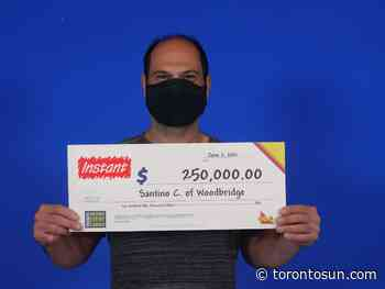STARTING FROM SCRATCH: Woodbridge man wins $250K - Toronto Sun