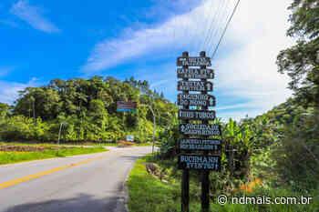 Com desenvolvimento econômico, vocação e belezas naturais, Gaspar se destaca no turismo - ND