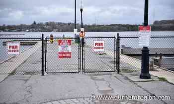 Sink holes prompt closure of popular Port Perry pier Sink holes spotted on the Government Pier - durhamregion.com