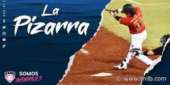 La Pizarra: Noche de volteretas y de joyas en la loma - Minor League Baseball