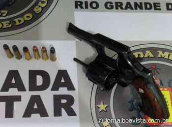 Adolescente é flagrado armado enquanto andava de bicicleta em Erechim - Jornal Boa Vista