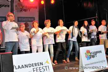 Vlaanderen Zingt voor beperkt publiek door corona (Zemst) - Het Nieuwsblad