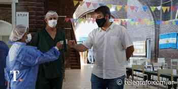 En Villa Gesell comienzan a vacunar a menores de 60 sin patologías de riesgo - Telégrafo
