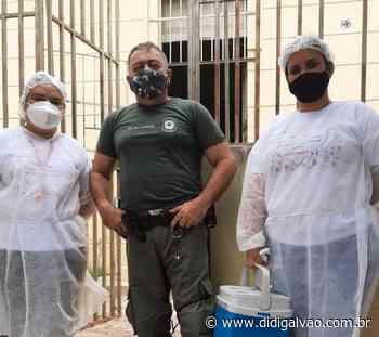 Prefeitura de Parnamirim imunizou contra a COVID-19 o público do Sistema Prisional - Blog do Didi Galvão