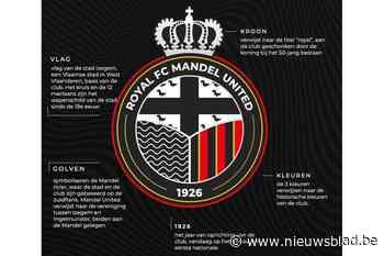 Nieuw logo voor Royal FC Mandel United (Izegem) - Het Nieuwsblad