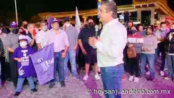 Toño Mejía festejó virtual triunfo de elección en Tequisquiapan - Hoy San Juan del Río