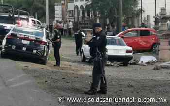 Feroz persecución dejó un muerto en Tequisquiapan - El Sol de San Juan del Río