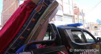 Intervienen hospedajes e incautan colchones en mal estado en Juliaca - Diario Correo