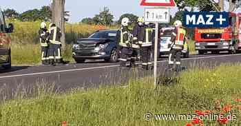 Nauen: Vier Verletzte bei Unfall auf B5 - Märkische Allgemeine Zeitung