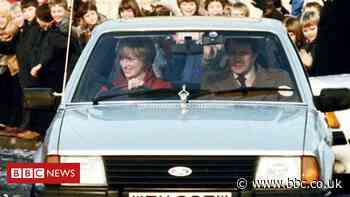Princess Diana's 1981 Ford Escort to be auctioned