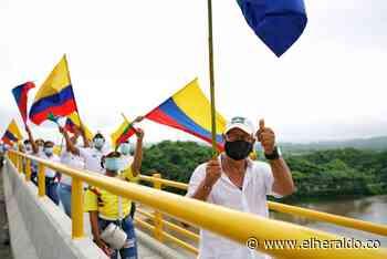 Inauguran el puente Catalino Parra que une a San Estanislao y Soplaviento - EL HERALDO