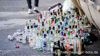 Glascontainer übervoll - Onstmettinger wollen's sauber - Schwarzwälder Bote