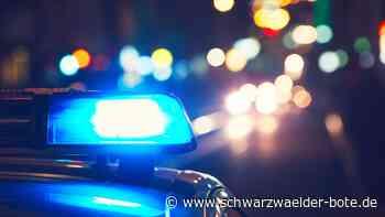 Platzverweis ignoriert - 21-Jähriger greift Polizisten in Ebingen an - Schwarzwälder Bote