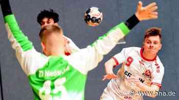 Twistetaler Handballer Ben Backhaus will mit Melsungen deutscher Meister werden - HNA.de