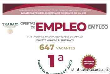 Ofertan en Zacatecas, Fresnillo y Río Grande vacantes de empleo - NTR Zacatecas .com
