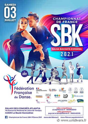 CHAMPIONNAT DE FRANCE SBK Palais des Congrès Atlantia samedi 3 juillet 2021 - Unidivers